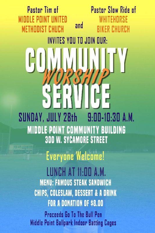 Community Worship Flier 2019