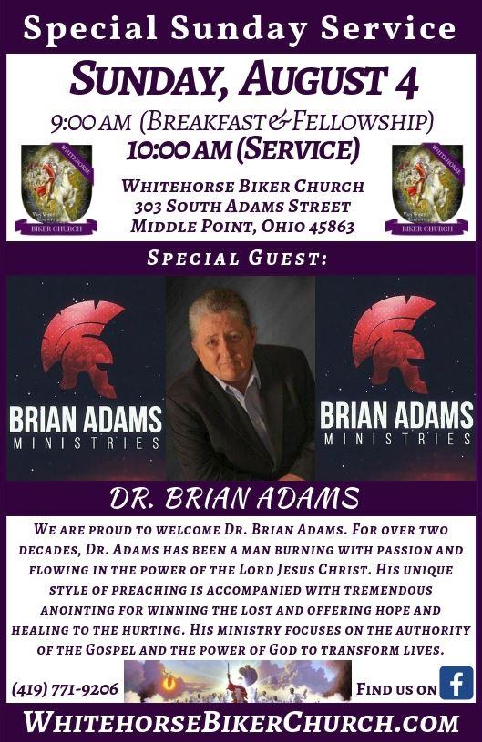Dr. Brian Adams Flier 2019