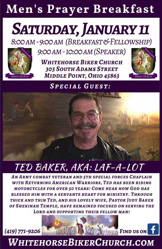 WHBC Men's Prayer Breakfast flier Jan 2020