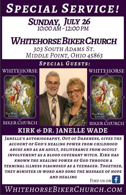 Kirk and Janelle Wade Flier 2020